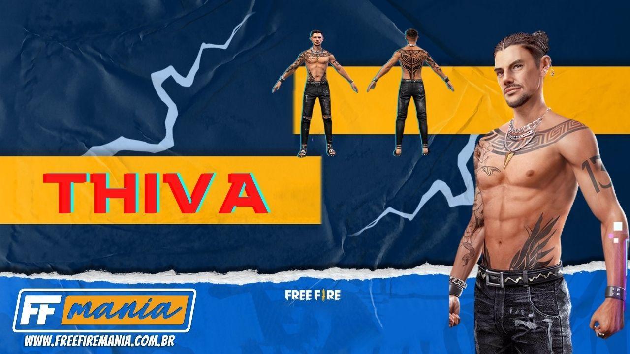 Como conseguir o personagem Thiva Free Fire: data de lançamento, habilidades e mais detalhes