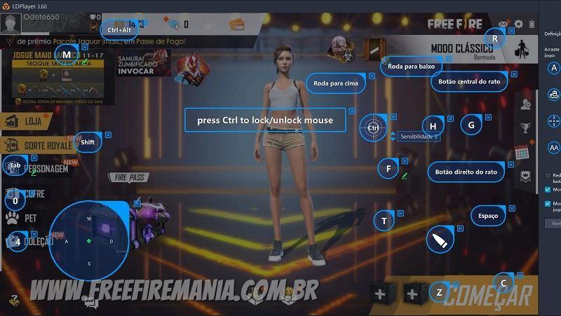 Como jogar Free Fire em um PC fraco usando o emulador ldplayer