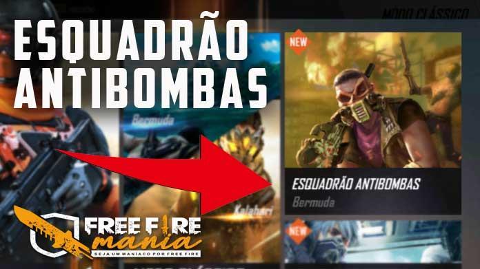 Como jogar o novo Modo Esquadrão Antibombas no Free Fire