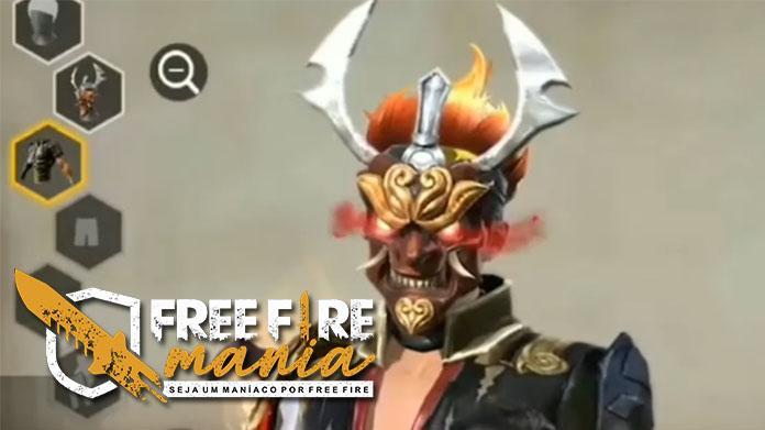 Como obter a Máscara do Samurai de Graça no Free fire