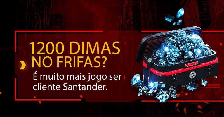 Como resgatar 600 diamantes da promoção do Santander e Free Fire: tutorial passo a passo