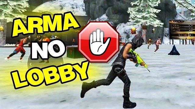 Comunidade Reclama da Arma no Lobby