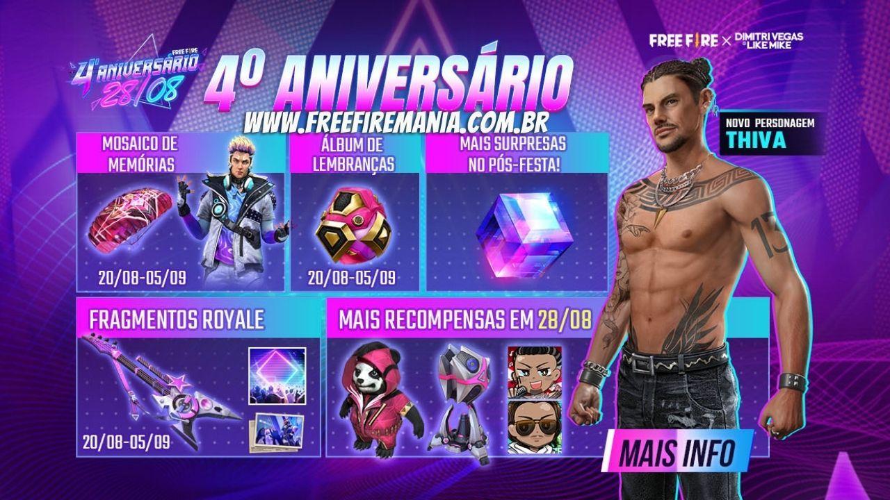 Confirmado: Garena libera Cubo Mágico no Brasil para aniversário Free Fire 2021, veja como conseguir