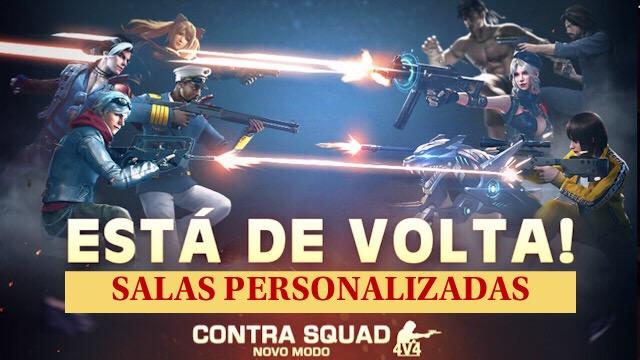 Confirmado: Modo Contra Squad nas Salas Personalizadas