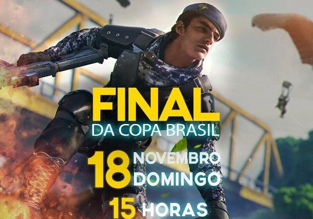 Copa Brasil Free Fire - Final Amanhã!