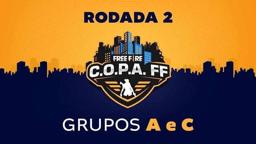 Copa Free Fire ao vivo Rodada 2 - Grupos A e C