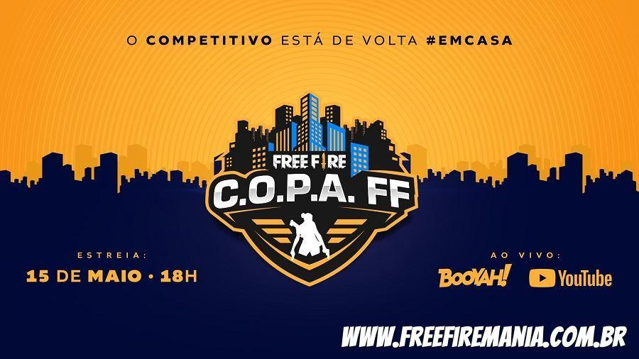 C.O.P.A. Free Fire: O novo campeonato oficial do Brasil