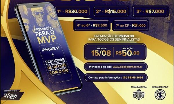 Copa R10 Free Fire: torneio do Ronaldinho Gaúcho cobra R$ 50 por inscrição