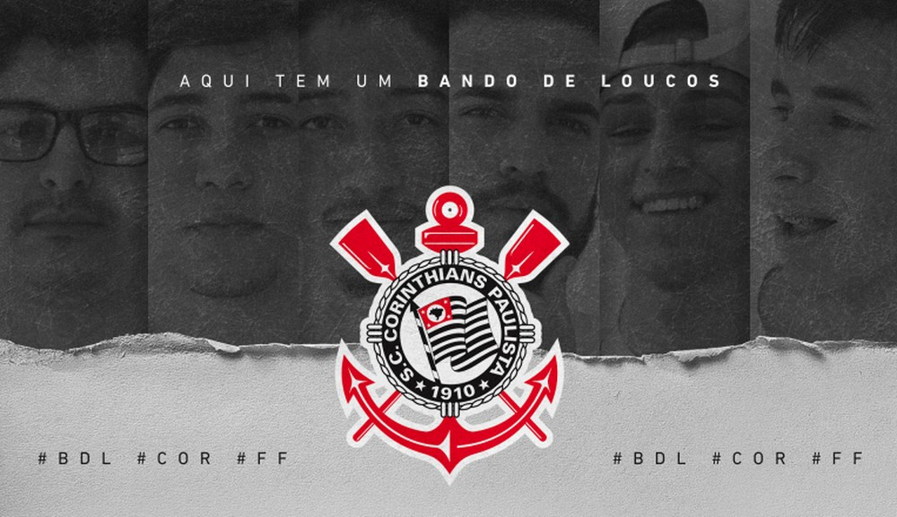 Corinthians anuncia sua equipe de Free Fire, Bando de Loucos