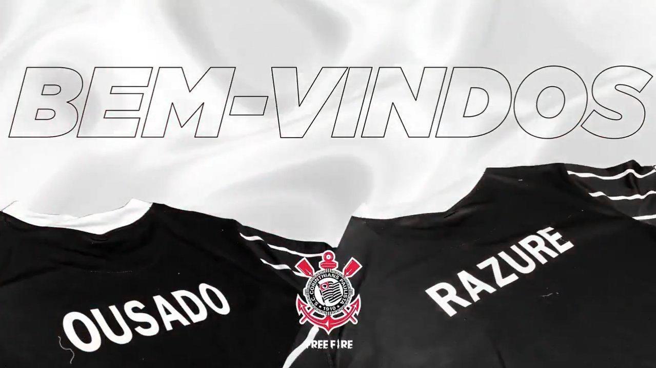 Corinthians Free Fire anuncia Razure e Ousado como reforços para LBFF 2021