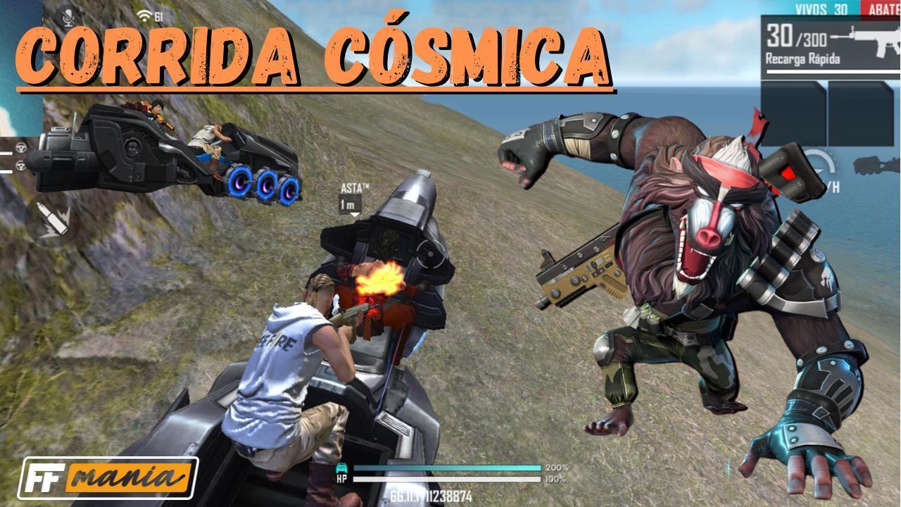 Free Fire Cosmic Race: el nuevo modo es la evolución de Death Race