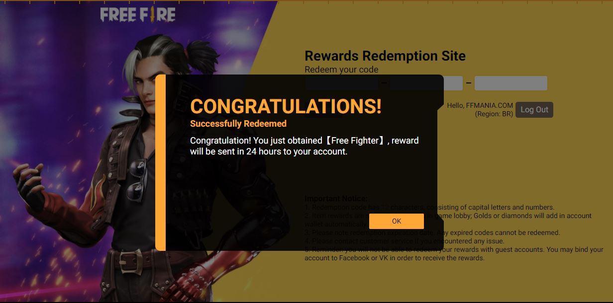 Craque da Porrada Free Fire: jogo em parceria com Street Fighter com CODIGUIN, saiba como conseguir
