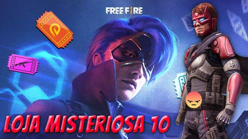 Data da Loja Misteriosa 10.0 no Free Fire