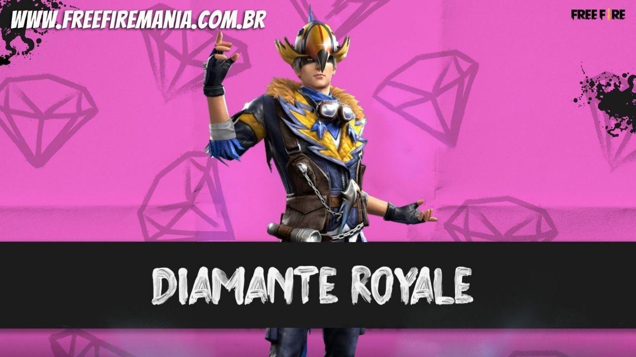 Diamante Royale Free Fire: Homem Tucano é novo pacote da roleta, veja como conseguir