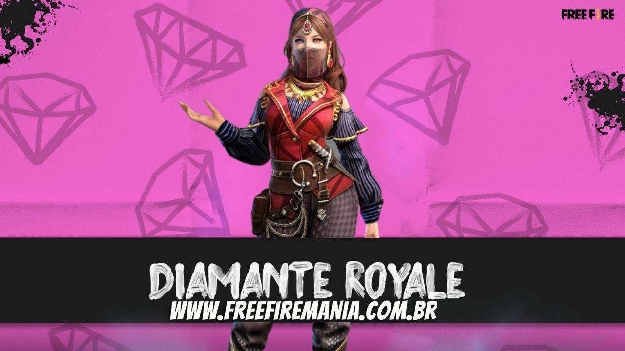 Diamante Royale Free Fire: Julho termina com o pacote Guerreira Persa, veja como conseguir
