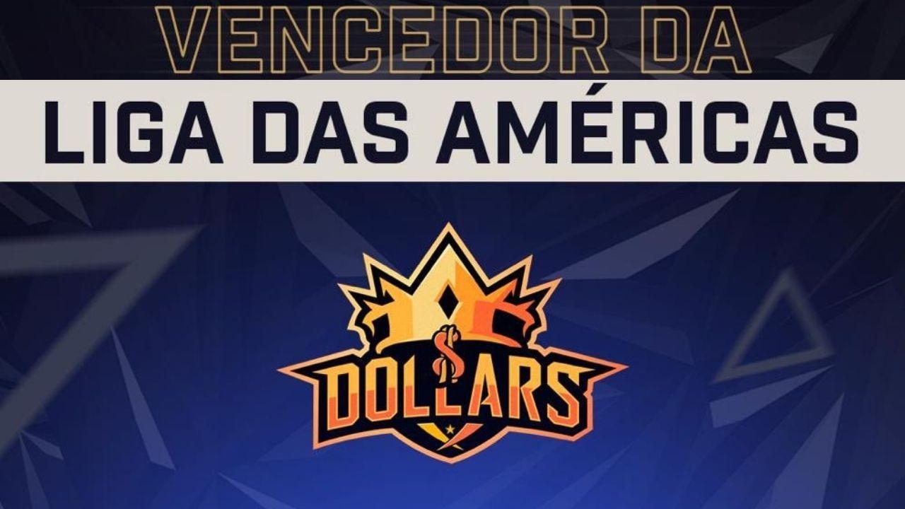 Dollars é a grande campeã da Liga das Américas (LDA) de Free Fire, TWO9 é o MVP