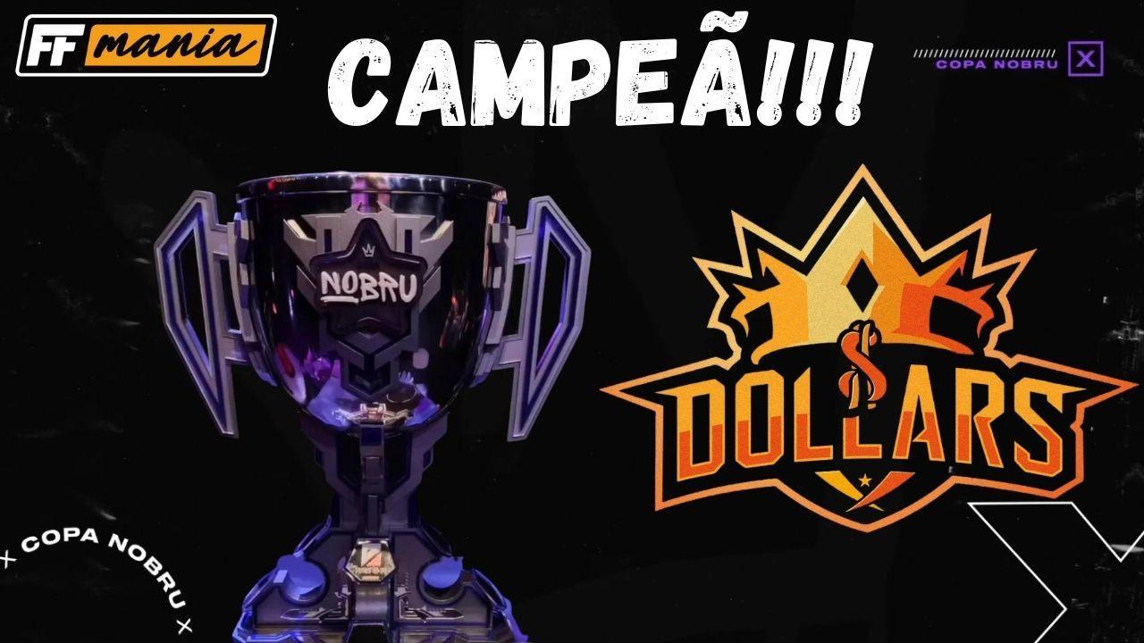Dollars é Campeã da Copa Nobru, título da 2ª edição garantiu vaga para La Copa