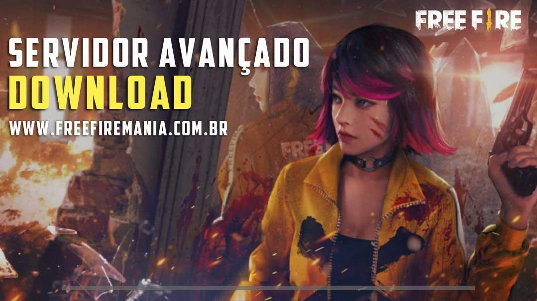 Download do Servidor Avançado de Free Fire - Fevereiro 2020