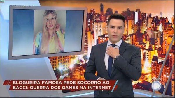 """Dri Paz no Cidade Alerta: """"estou sendo ameaçada pelos fãs da LOUD"""""""