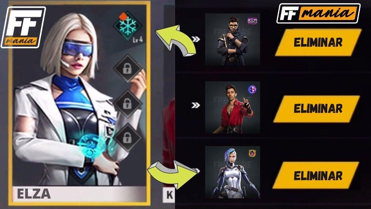 Elza Free Fire: habilidade da personagem promete dar fim a supremacia do Alok