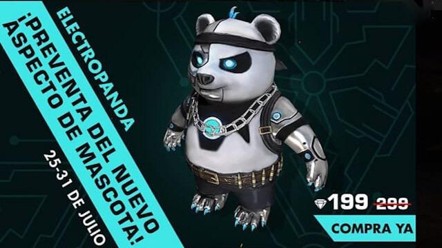 Em Breve: Nova Skin do Panda Relâmpago