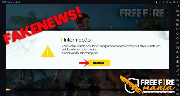 Emulador no Free Fire: Garena vai banir os jogadores?