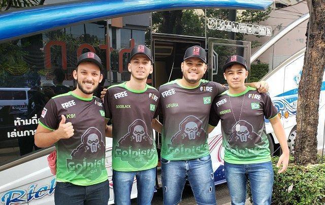 Equipes Brasileiras Já Estão na Tailândia Para a Final do Mundial