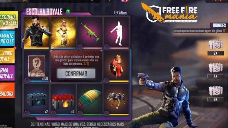 Escolha Royale do Free Fire traz o novo personagem Jai