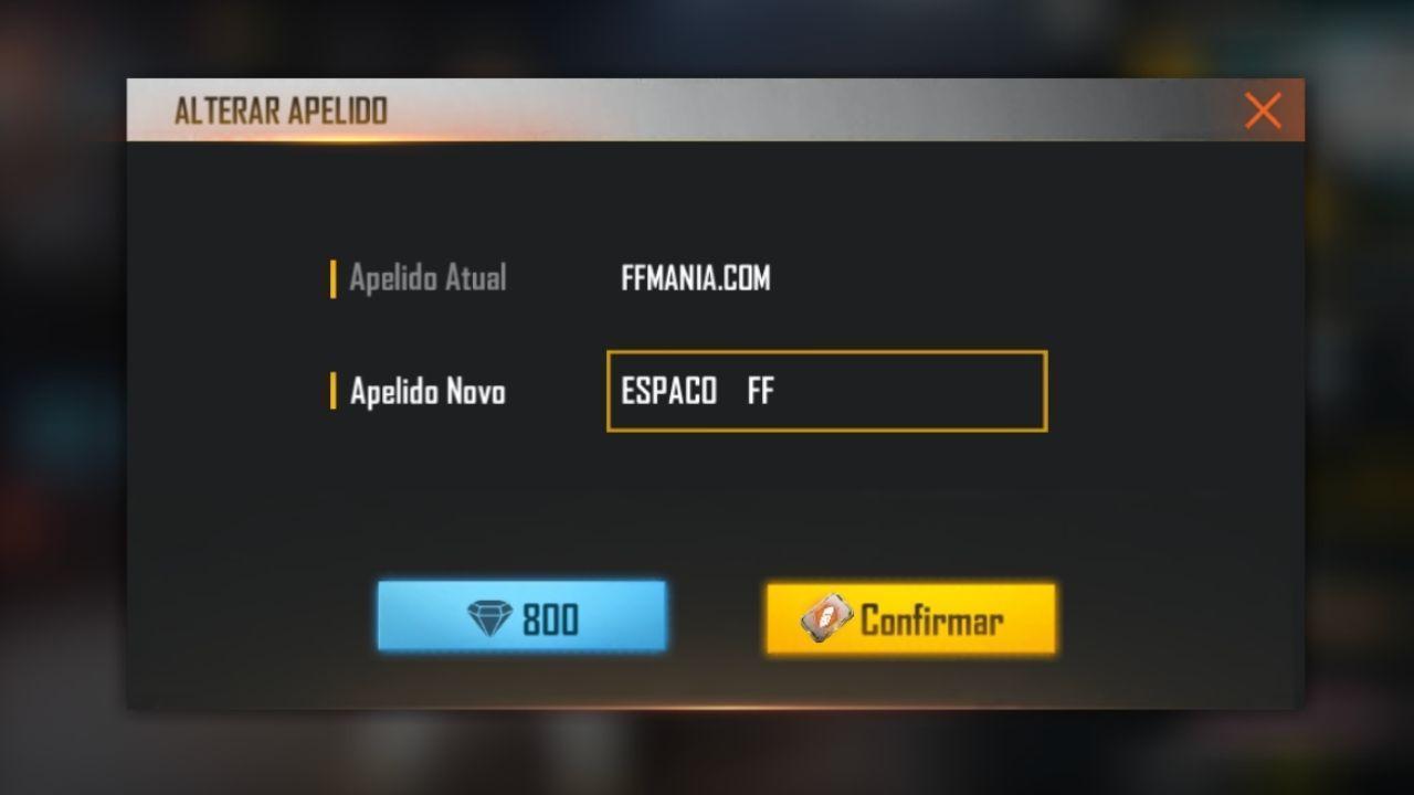 Ruang Tak Terlihat Free Fire: cara memasukkan kode tak terlihat di nick atau nama game