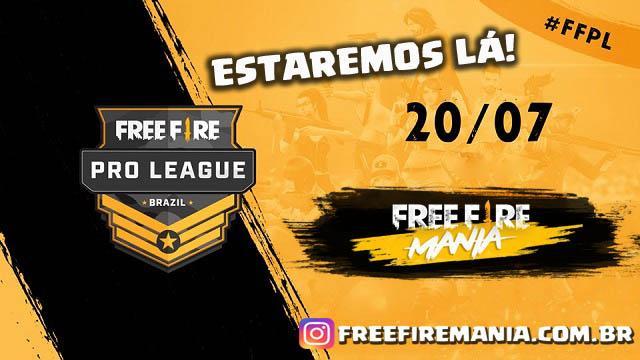 Estaremos Presentes na Pro League!