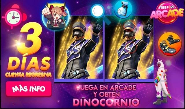 Evento Arcade - Dino Unicórnio no Brasil