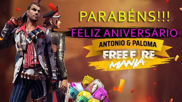 Evento de Aniversários do Antonio e da Paloma