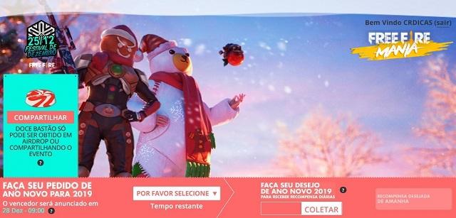 Evento de Natal e Ano Novo - Faça seu pedido e ganhe! Novo Site WinterLands