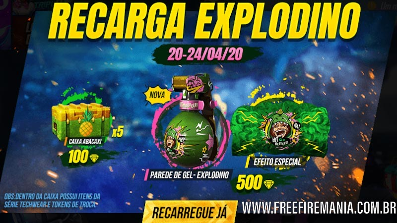 Evento de Recarga ExploDino