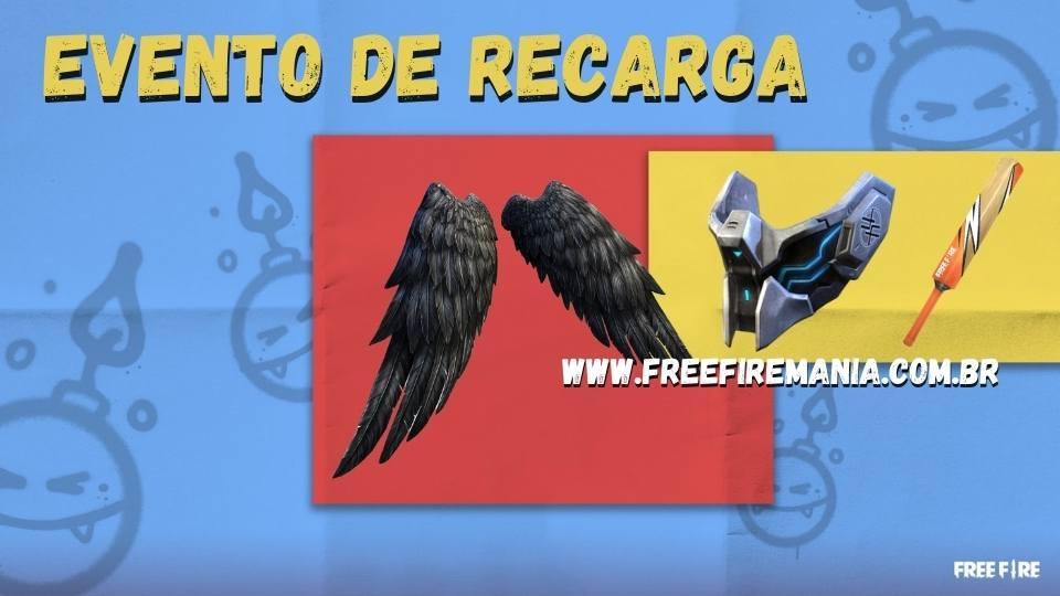 Evento de Recarga Free Fire: Recarga dos Anjos chega na segunda, confira os itens