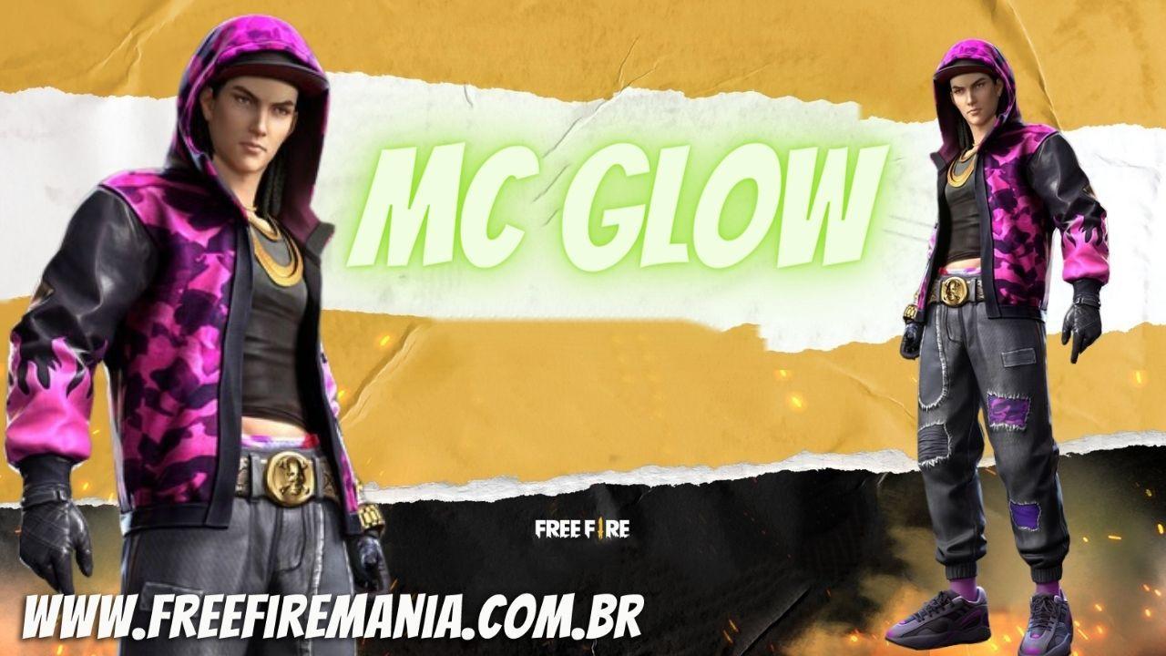 Evento Desconto dos Oitos Free Fire traz inédito pacote MC Glow