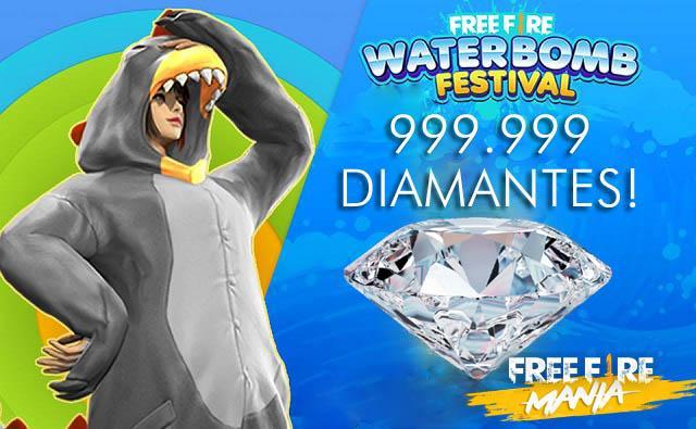 Evento para Ganhar 1 MILHÃO de Diamantes chega ao Brasil