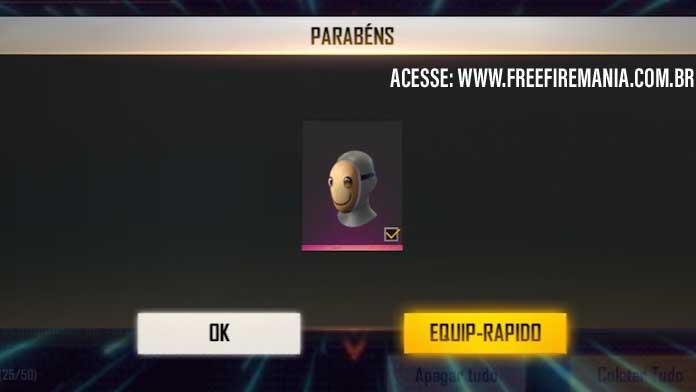 Faça login e ganhe a nova Máscara do Ragnarok