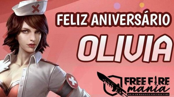 Feliz Aniversário Olivia - 11 de Outubro