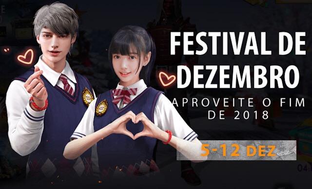 Festival de Dezembro - Novo Evento