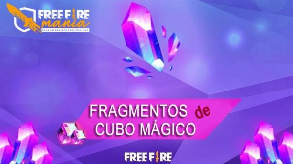 Novo Fragmentos do Cubo Mágico no Free Fire