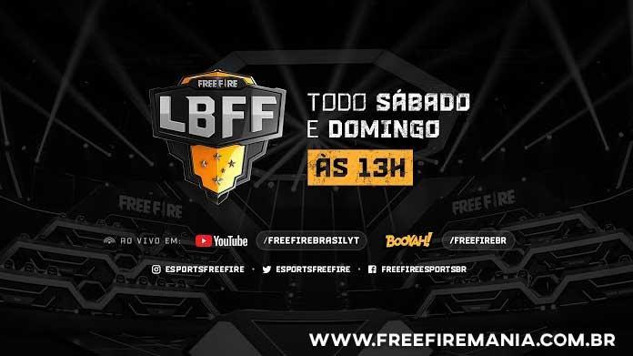 Free Fire ao vivo! Liga Brasileira de Free Fire - LBFF - Semana 2 - Dia 2