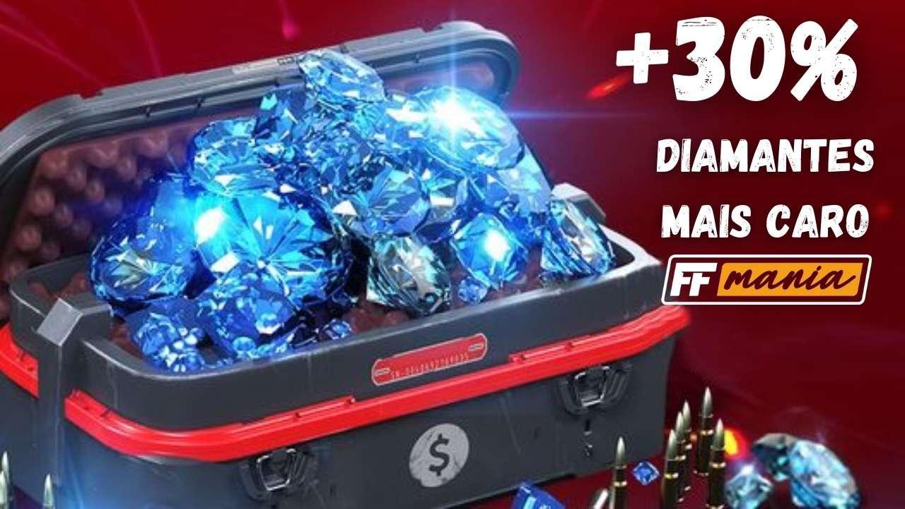 Free Fire: Apple aumenta os preços e diamantes ficam mais caros