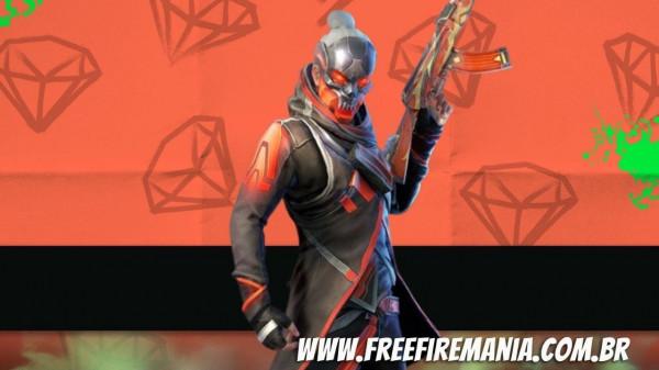 Free Fire: Bazar de Prêmios chega na segunda e traz de volta o Espírito Escarlate