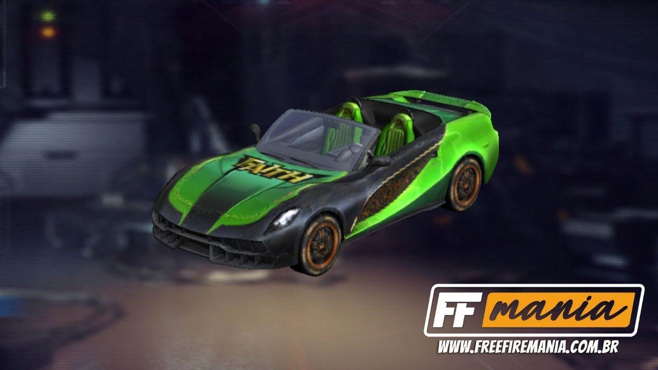 Free Fire: Calendário Semanal traz pacote Baghatur e carro esportivo no evento Grafitando