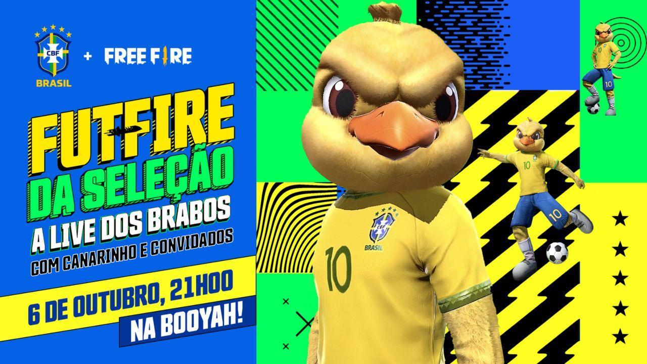 Free Fire: com El Gato e Cerol, craques do futebol se enfrentam na