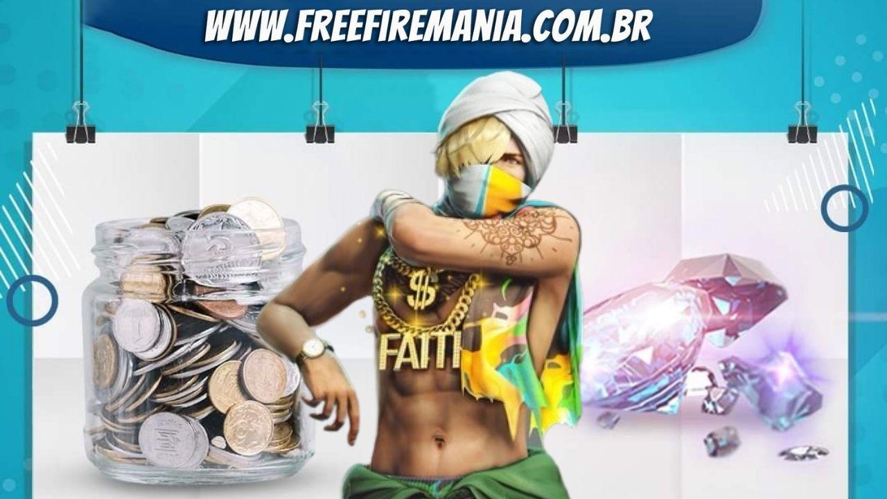 Free Fire: Desconto Gemado traz o inédito Pacote Motim, veja como funciona