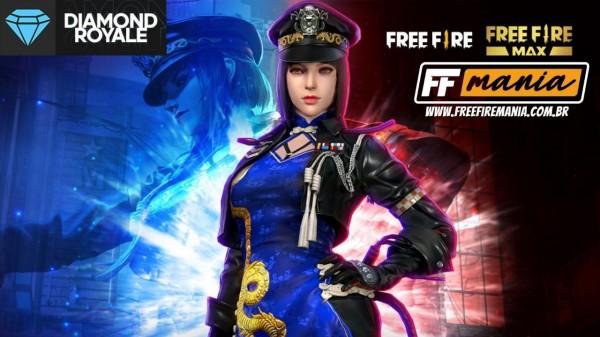 Free Fire: Diamante Royale chamado Espiã do Dragão começa a chegar nos servidores
