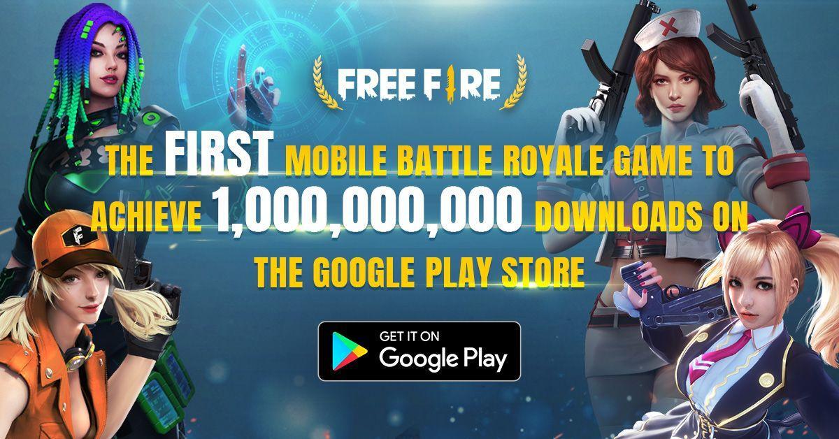 Free Fire é o primeiro Battle Royale a ter 1 bilhão de downloads e Garena promete evento especial