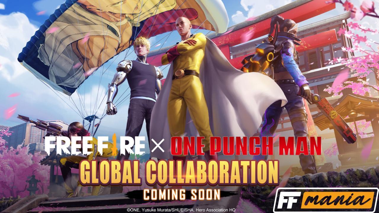 Free Fire e One-Punch Man: produtor da Garena fala sobre a parceria com o anime